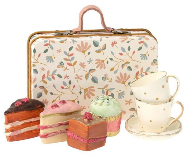 Maileg, Cake Set in suitcase
