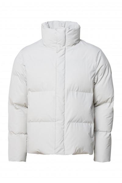 Rains, Boxy Puffer Jacket, Off White